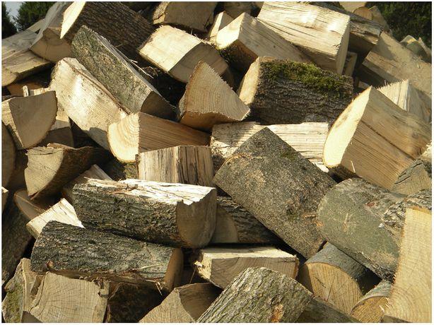 Gotowe w polanach drewno kominkowe - Szybka dostawa - Sezonowane