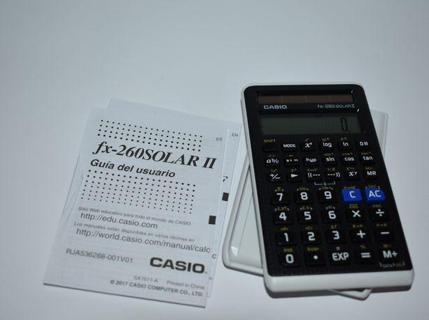новый инженерный калькулятор casio scientific calculator fx-260 solar