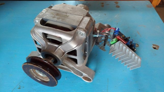 Двигун від пральної машини 390 Вт з регулятором обертів