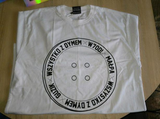 Biały t-shirt step records