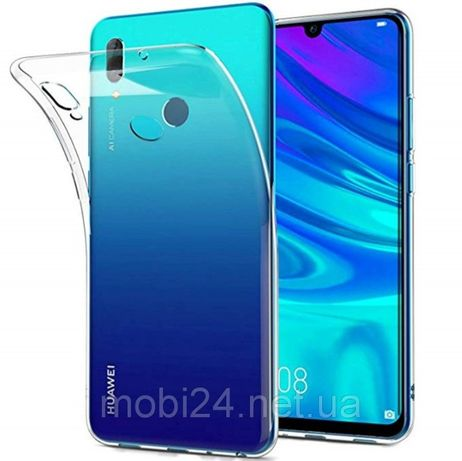 Прозрачный TPU чехол на Huawei P Smart / P Smart Plus / P Smart 2019