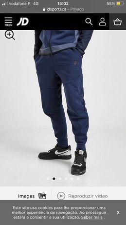 Calças Nike tech fleece azuis
