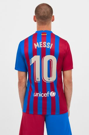 FC Barcelona Home 21-22 MESSI