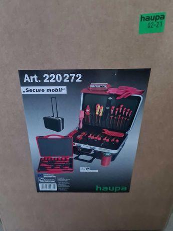 Walizka narzędziowa HAUPA 220272 Secure Mobil 1000 V 57 narzędzi Nowa