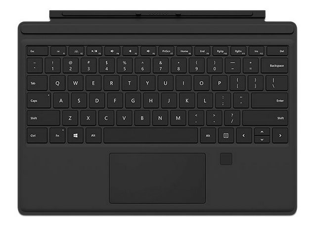 Microsoft Surface Pro Type Cover with Fingerprint ID (GK3-00001)