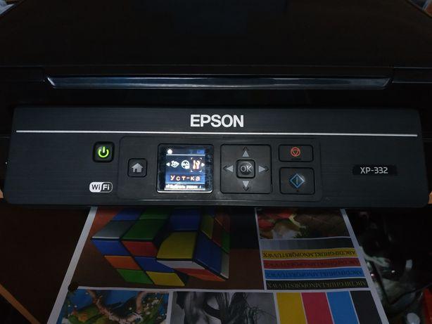 Продам МФУ Epson xp-332