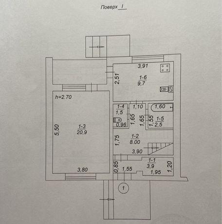 Двухэтажная квартира в с. Микуличи (Киевская обл.)