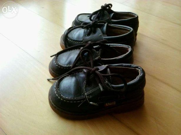Sapatos vela el corte ingles criança