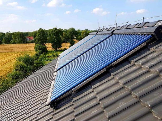 Kolektory słoneczne, solary- serwis i montaż.