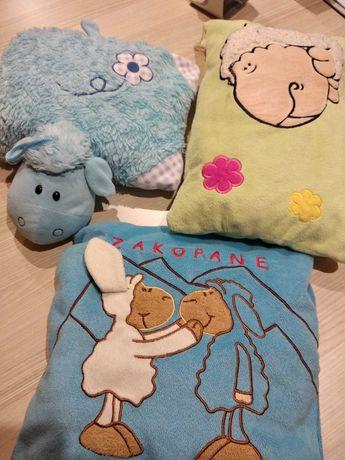 Poduszki, poduszeczki, jaśki dekoracyjne, owieczka przytulanka i inne