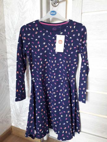 Платье на девочку 146 см. cool club. темно фиолетовое.