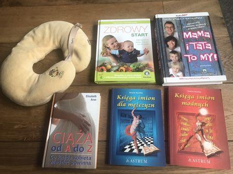 """Pakiet dla mamy """"Zdrowy Start"""" +4 książki +rogalik"""