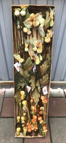 Цветы искусственные ветка листья букет