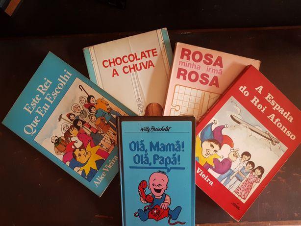 Livros com mais de 30 anos