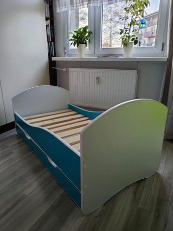 Łóżko dziecięce 70x140 + materac hevea baby