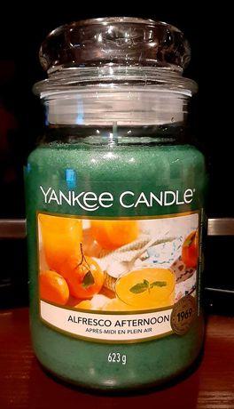 Świeca Yankee Candle - Alfresco Afternoon, 623g (duża) - przesyłka 1zł
