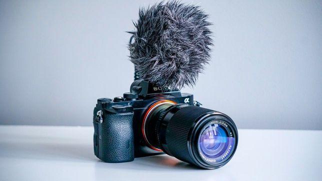 Aparat Sony A7 + obiektyw 70-210 mm bezlusterkowiec