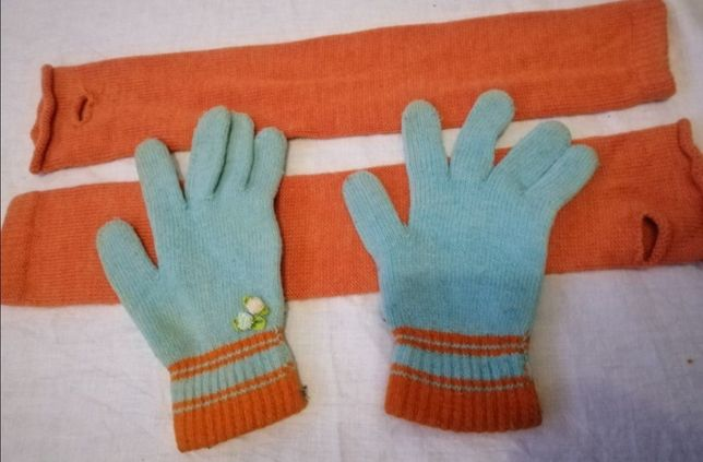 Рукава митенки и перчатки