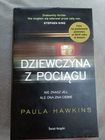 Dziewczyna z Pociągu Paula Hawkins książki
