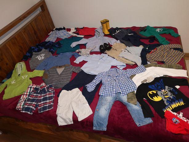 Zestaw ubrań dla chłopca 1.5-2 lata 86 cm