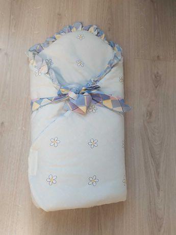Одеяльце-конверт для новорожденных