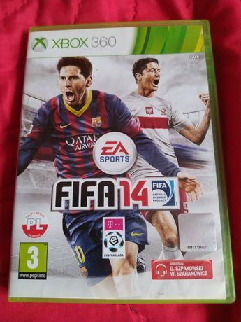 FIFA 14 na Xbox 360 w PL wersji językowej 2014
