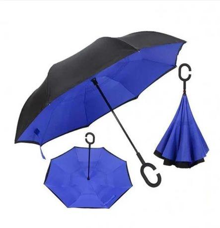Зонт наоборот раскладной  Umbrella