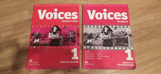 Voices 1 podręcznik i ćwiczenia do języka angielskiego