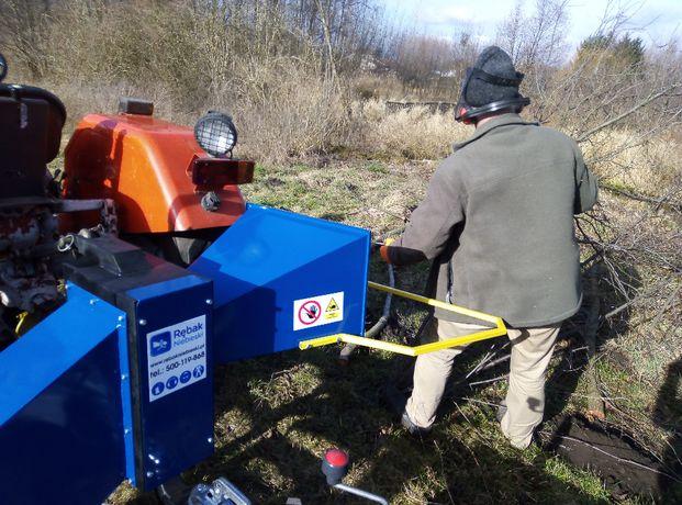 Rębak W102 do 11cm-FILM do sadu lasu gałęzi ,dom traktora c330 i inne