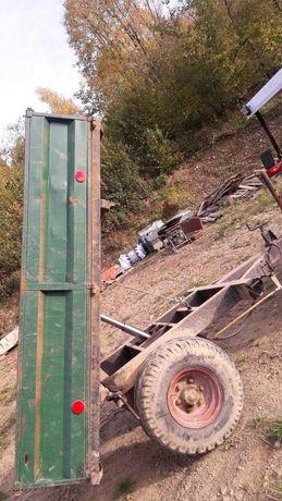 Przyczepa jednoosiowa kiprówka jednoosiowa kiper 3stronny 240x140