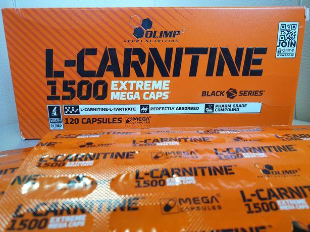 PROMOCJA OLIMP L-CARNITINE karnityna 120k kapsułek MOCNA 1500mg