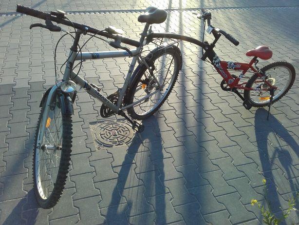 Rower tandem 3 koła