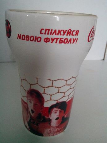 Стакан Coca- cola.