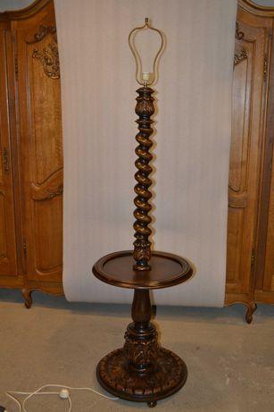Lampa stojąca ze Stoliczkiem
