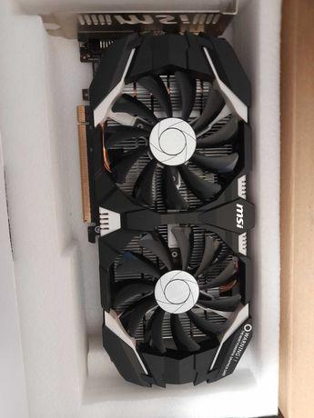 MSI GeForce GTX 1060 uszkodzony