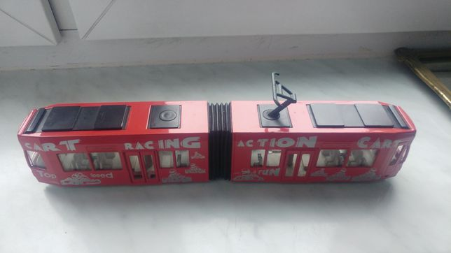 Model tramwaju firmy siku