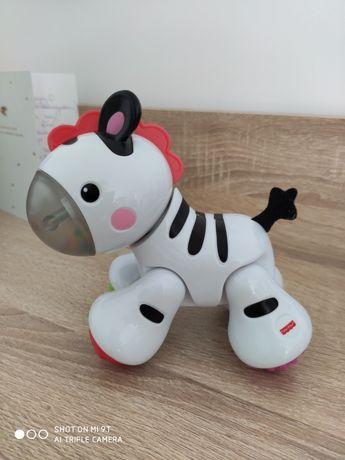 Zabawka zebra Fischer Price