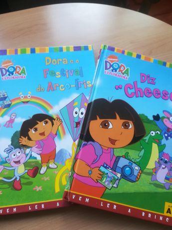 Livros nº5 e nº8 da colecção Dora a Exploradora