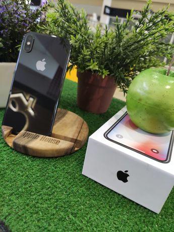 IPhone X 256 space gray Neverlock Гарантия до 12 мес Магазин
