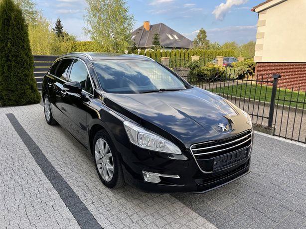 Peugeot 508 2.0 HDi 163KM Automat Panorama Alu Półskóra!!!
