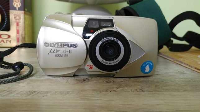 Olympus mju ii zoom 115 (прекрасное состояние)