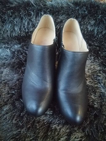 Buty botki na obcasie rozmiar 38
