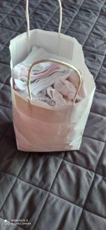 Zamienię torbę ubranek r. 50-56 dla dziewczynki