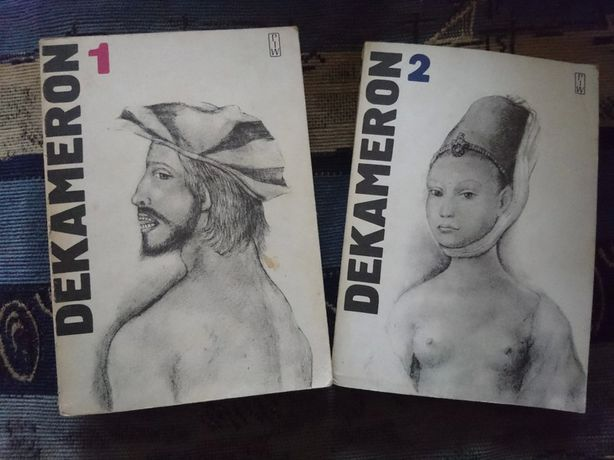 Książka Dekameron 2 cześci Bocaccio