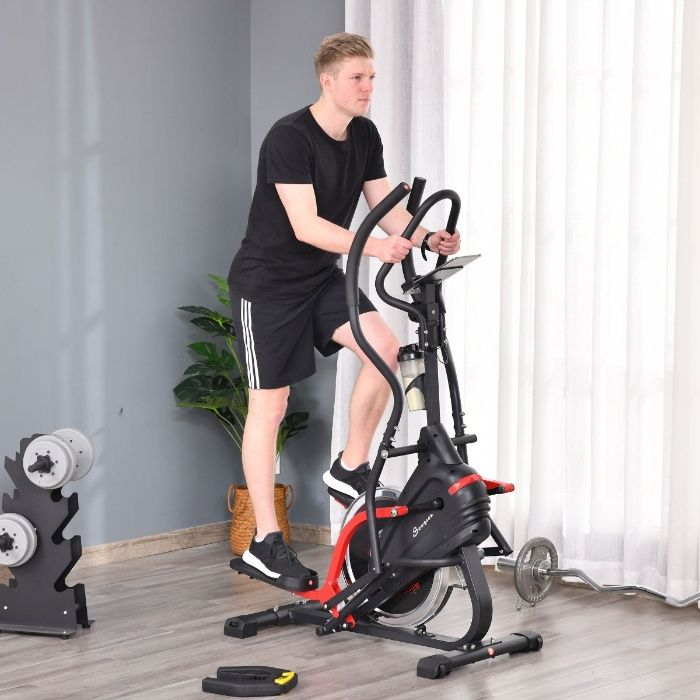 Bicicleta elíptica de fitness com tela LCD Pombal - imagem 1