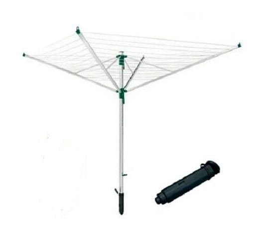 Podstawa Leifheit stopa do mocowania w podłożu suszuszarek parasoli