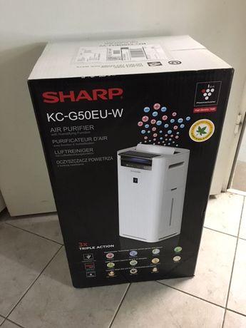 Oczyszczacz Sharp KC-G50EUW - NOWY - Warszawa