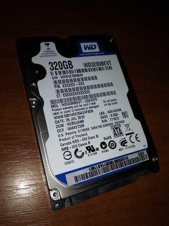 "Жёсткий диск WD 320 Gb, HDD винчестер 2,5"""