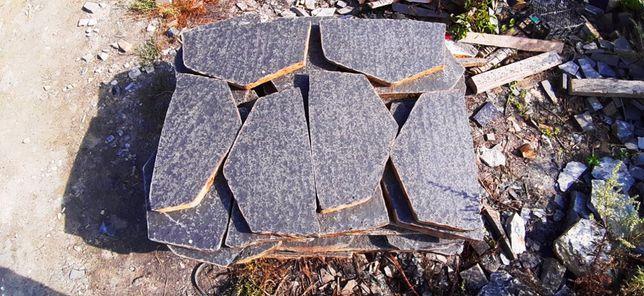Базальт сляб термооброблений. Природний камінь. Натуральний камінь