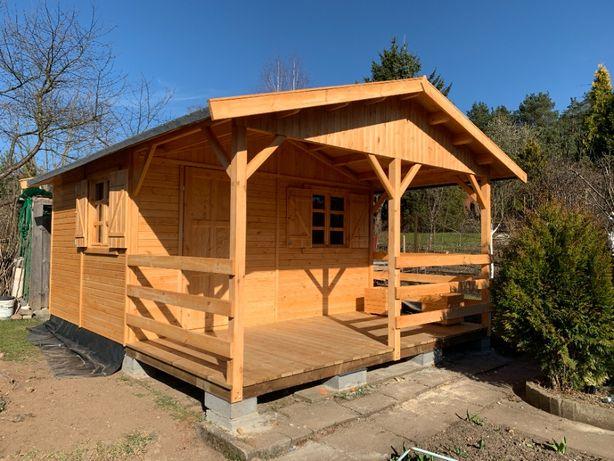 domki drewniane dom z drewna działkowy letniskowy pomieszczenie WARBIT